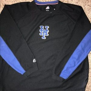 Majestic New York Mets polyester lined Long Sleeve